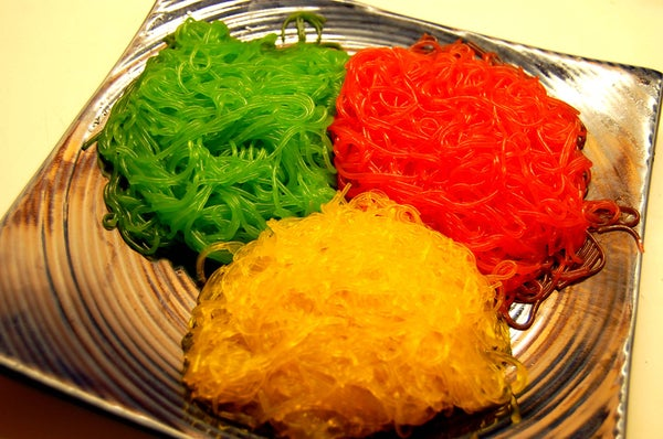 Colored Noodles, for Eating!