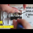 How to Install a Wifi Thermostat  With or With Out C Wire