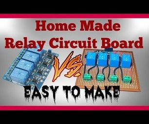 How to Make Relay Circuit Board for Arduino