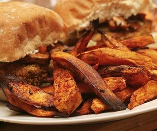 Balsamic Chilli Sweet Potato Fries