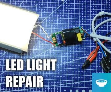 Repair a Broken LED Light Fixture