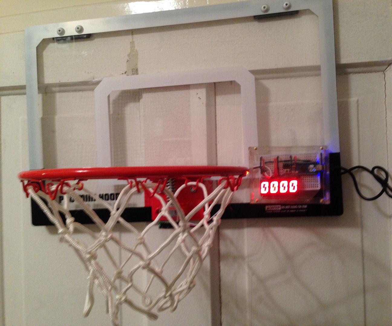 Arduino Basketball Pop-a-Shot: Upgrayedd