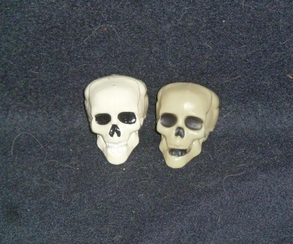 DIY: Dollar Store Skull Makeover
