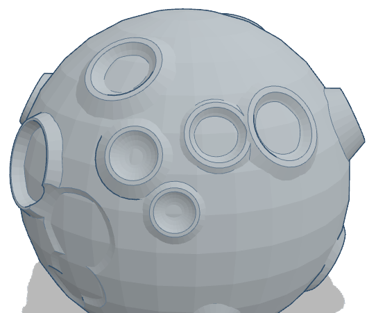 How to Create a Moon Using Tinkercad