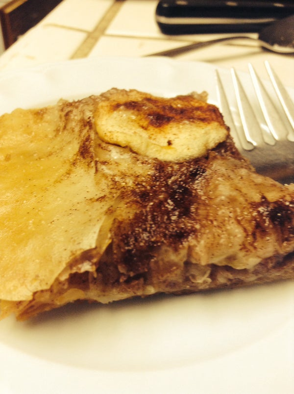Healthyish Apple Pastry
