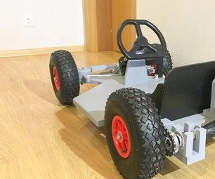 Drill Powered Go Kart