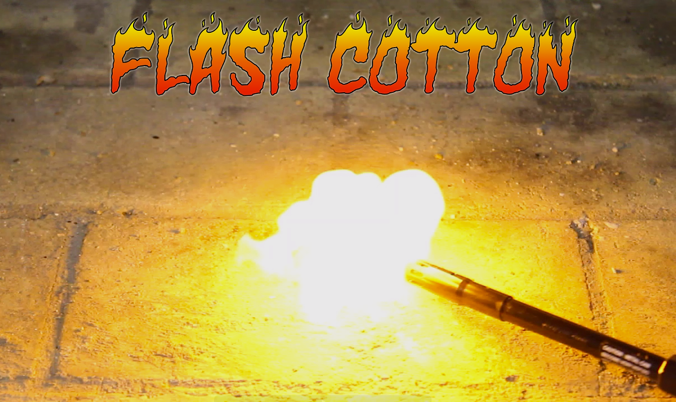 Flash Cotton (Nitrocellulose)