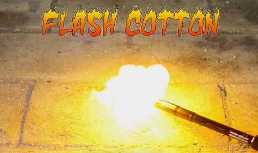 Flash Cotton (Nitrocellulose)