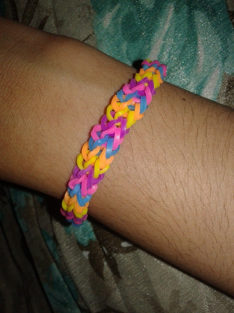 How to Make a Loom Band on Fork
