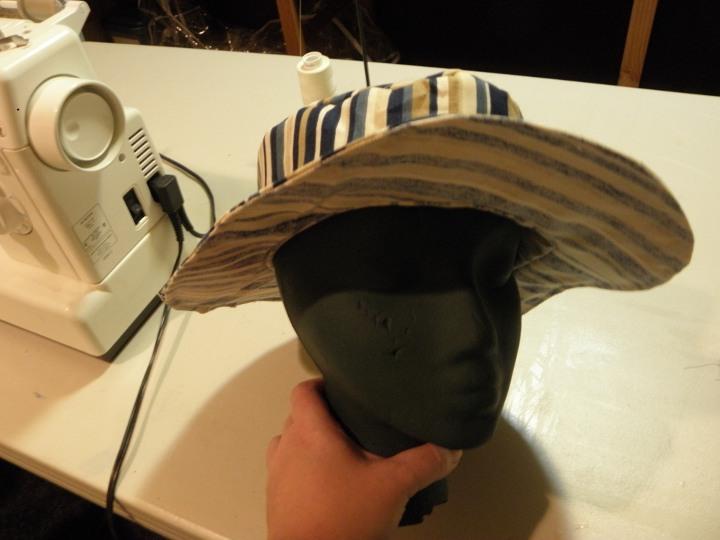 Beginner Sewing - Make a summer hat pattern from scratch