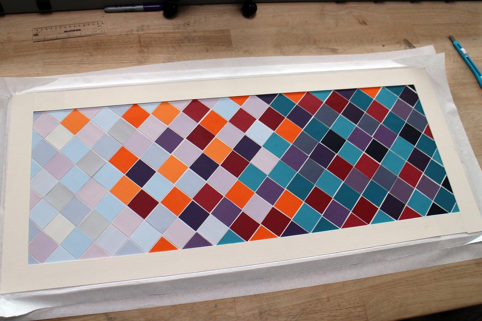 Glue Mat Board