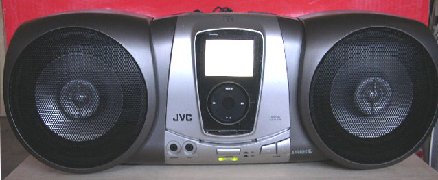 Custom iPod Boombox Boom Box