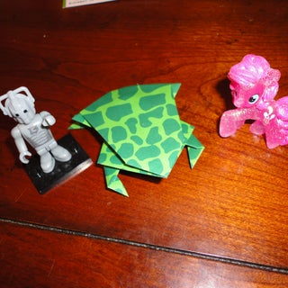How to Origami a Frog