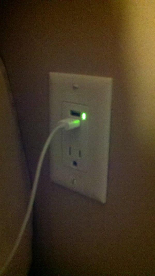 USB Wall Socket Install