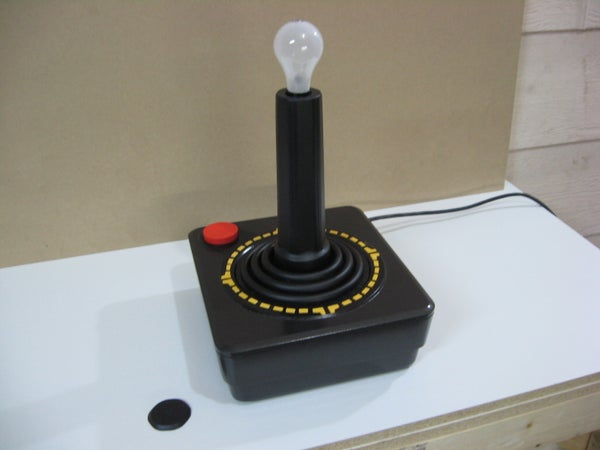 Giant Atari Joystick Lamp