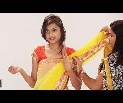 How To Drape A Saree In Different Styles To Look Slim - Latest Saree Draping Trends Like A Celebrity