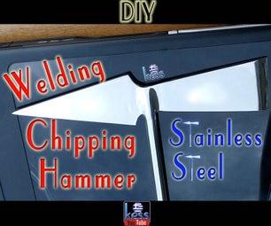 Welding Chipping Hammer Stainless Steel - DIY