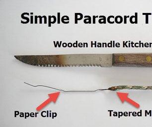 Threading Paracord