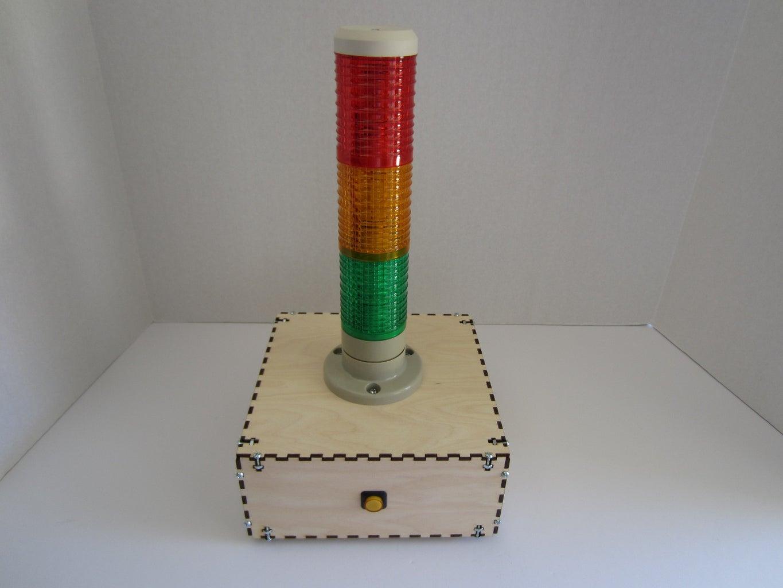 Assembled Raspberry Pi Internet Monitor