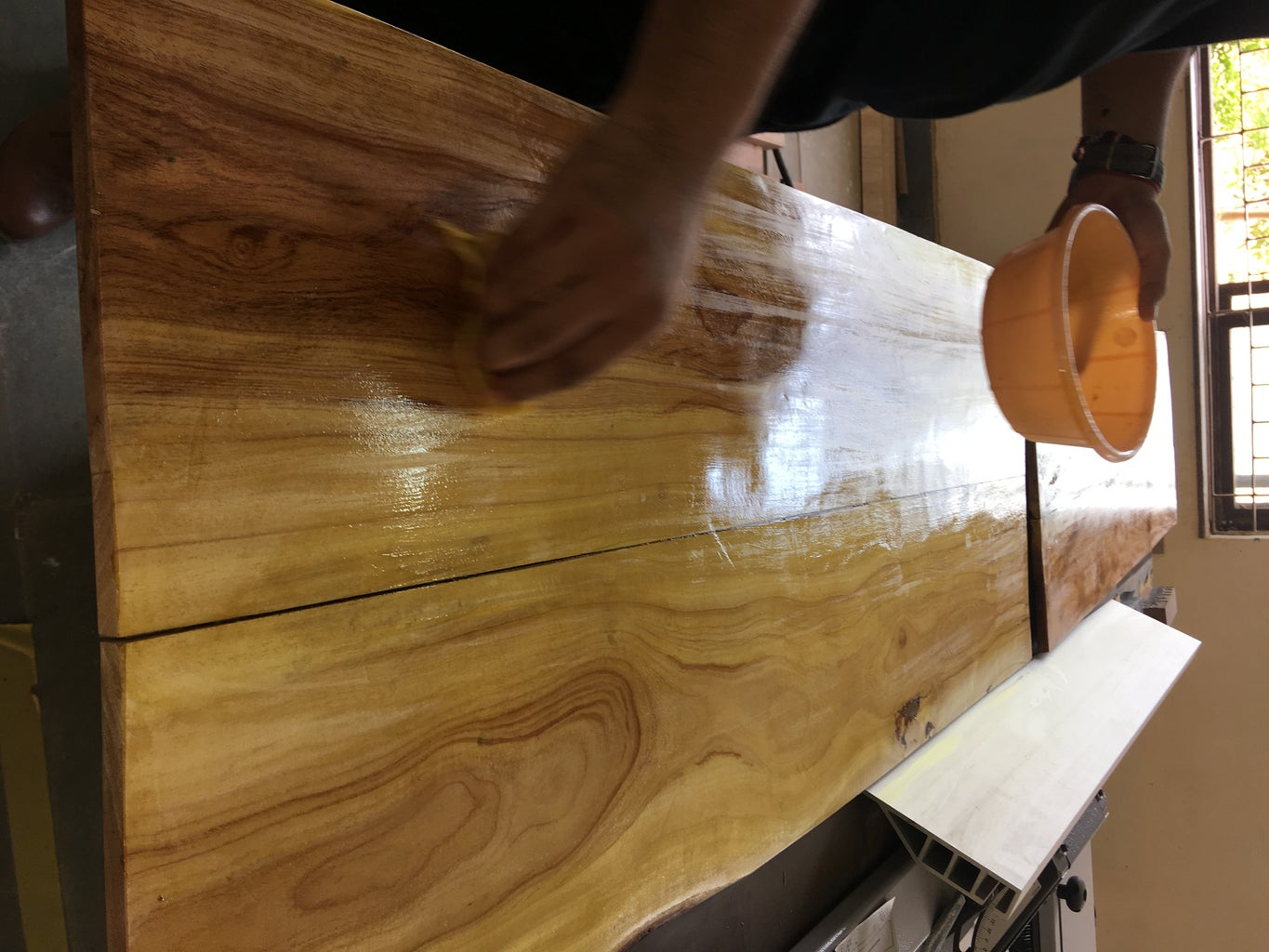 Table Top Wood Cutting