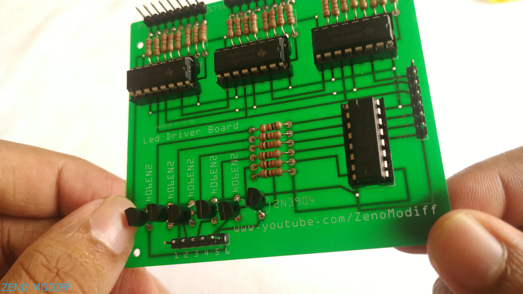 Making the Controller Board .