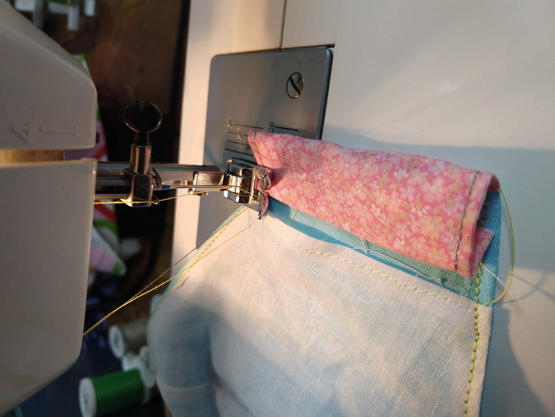 Sew the Slot for Elastic/string