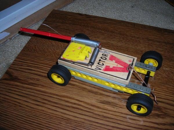 Lego Mousetrap Car