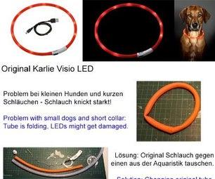 Dog LED Collar Improvement