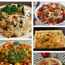 5 Days Fried Rice Meal Preparation