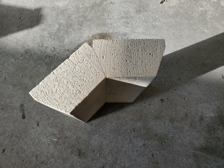Cutting the Soft Fire Bricks