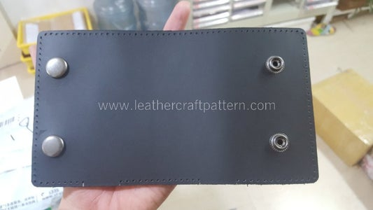 Install Snap Socket and Cap Together on Lining and Surface. Also Install Stud and Eyelet on Surface Only.