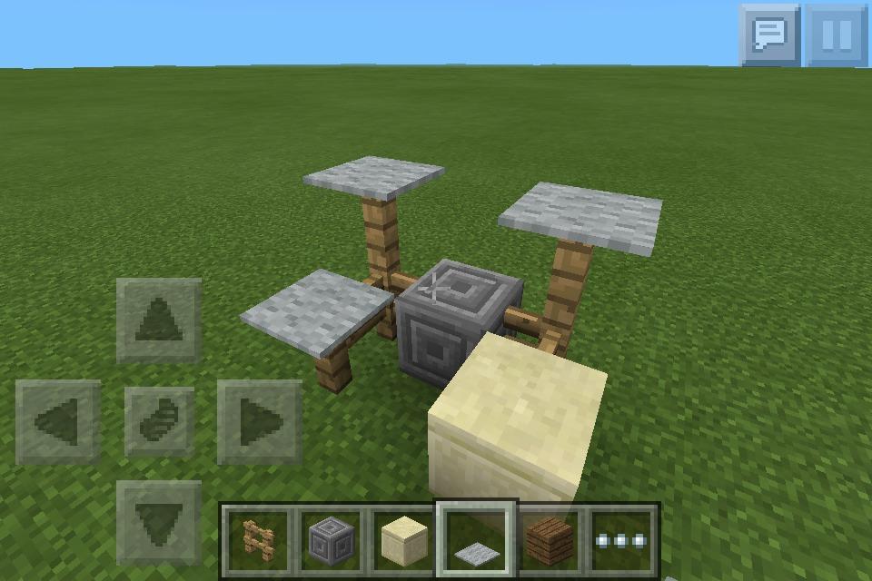 A Drum Set In Minecraft