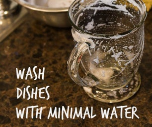 How to Wash Dishes (with Very Little Water!)