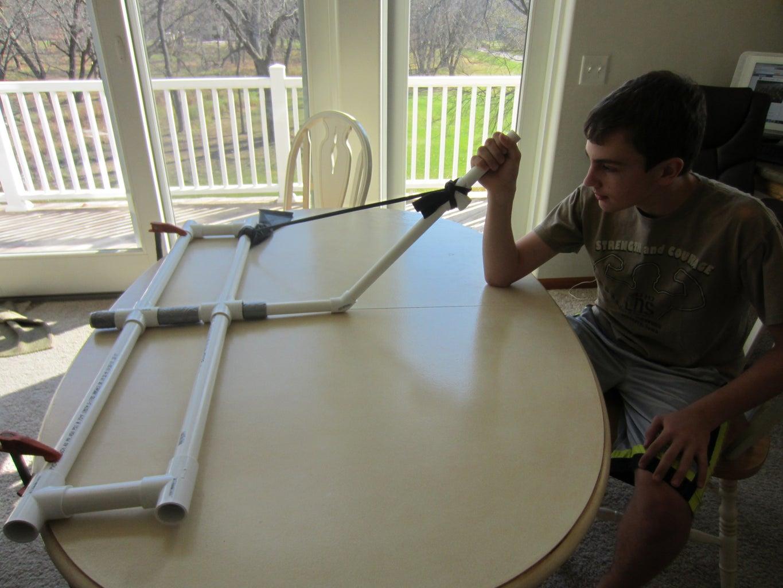 PVC Arm Wrestler