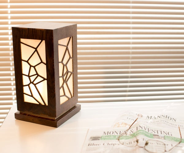 How to Make a Lamp