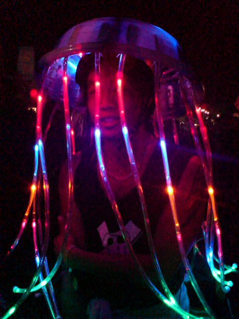 Halloween LED Jellyfish Costume