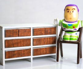 Making Miniature Dollhouse Furniture