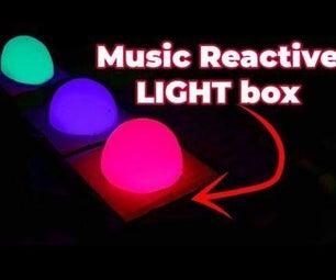 Make a Music Reactive RBG  Light Box/ #smartcreativity