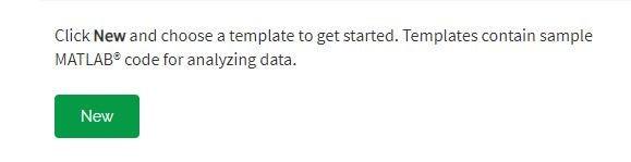 Create a MATLAB Analysis