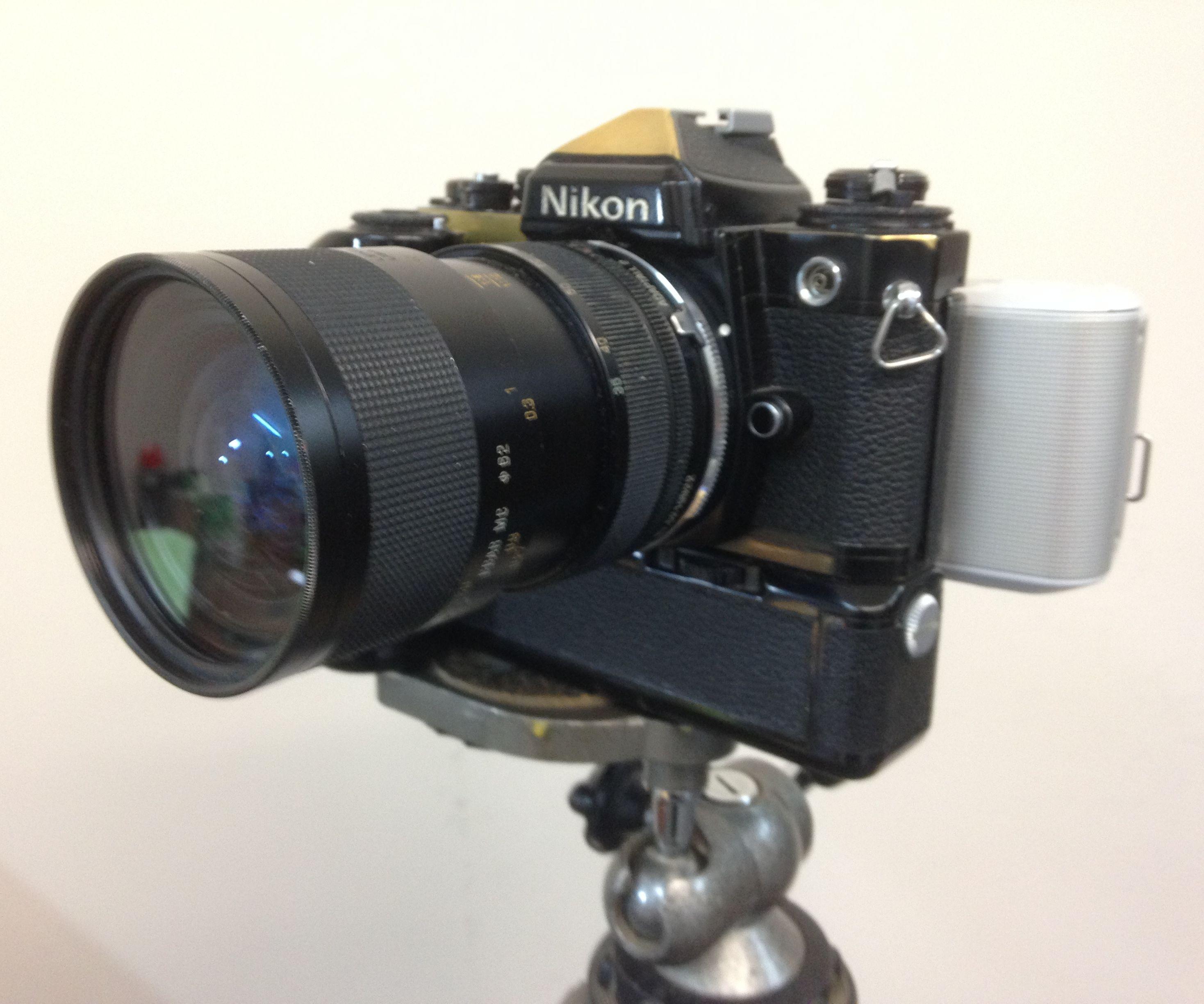 Convert 35mm SLR Film Camera to Digital