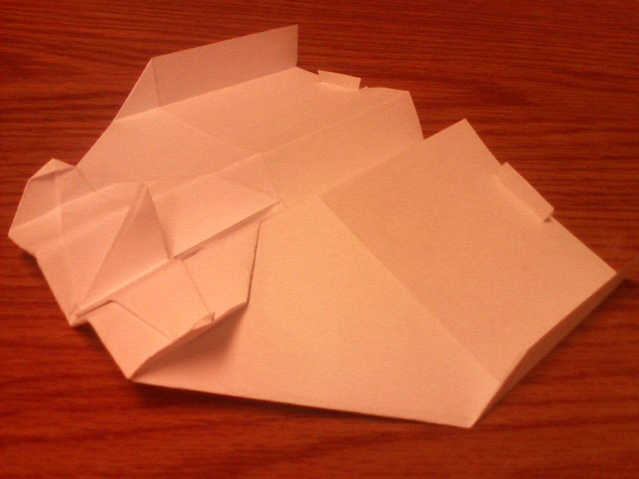 Hangtime! Paper airplane