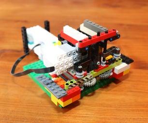 乐高升压管道清洁器弯曲机器人