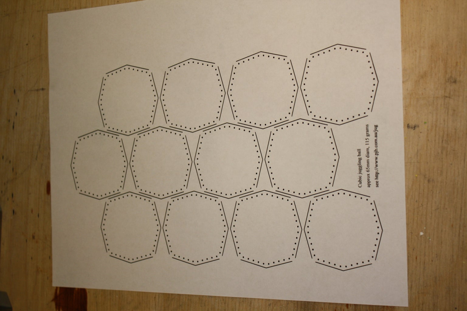 Print and Cut Out the Pattern