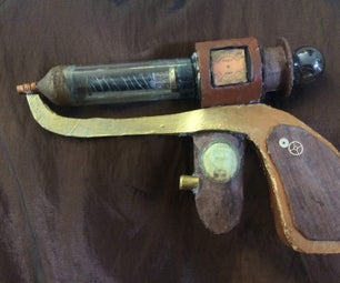 Steampunk Tesla Revolver