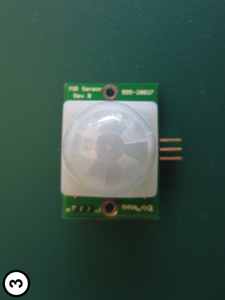 Mount the PIR Sensor on the Front Panel