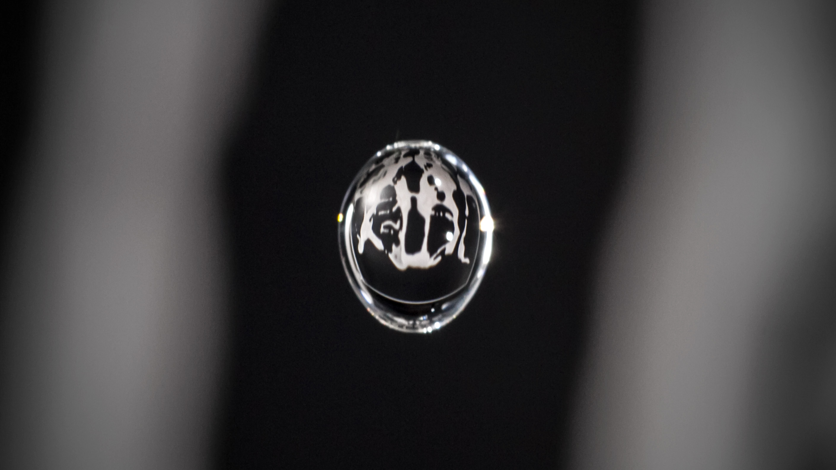An animation inside a water drop by Physalia