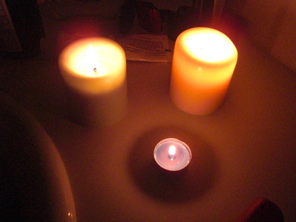 Light a Candle Without Touching the Wick