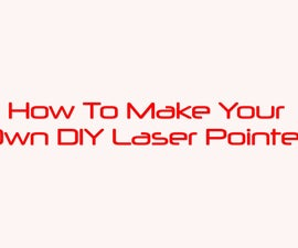 DIY USB Laser Pointer