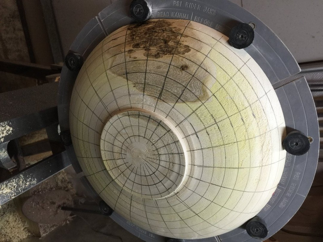 Applying an Exterior Grid to Bowl #2