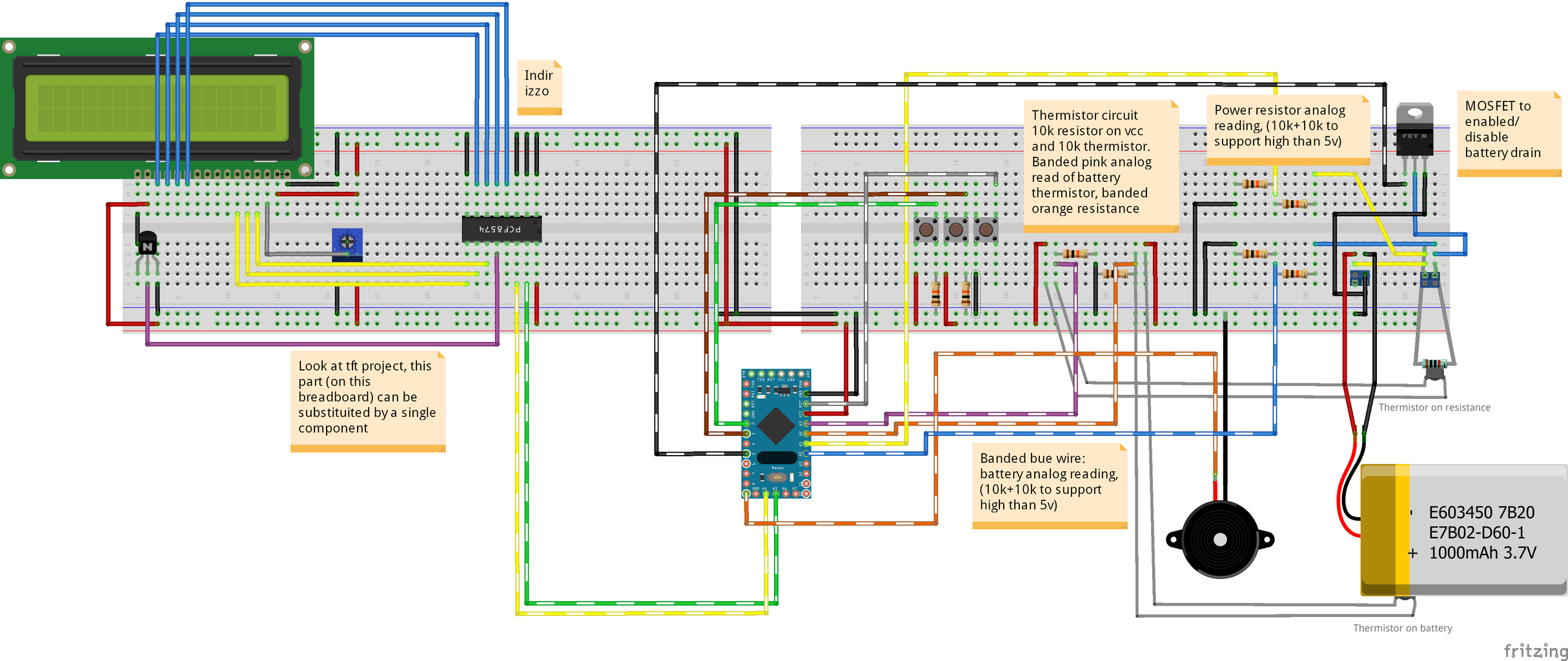 Breadboard: I2c Character Display Controller Expanded